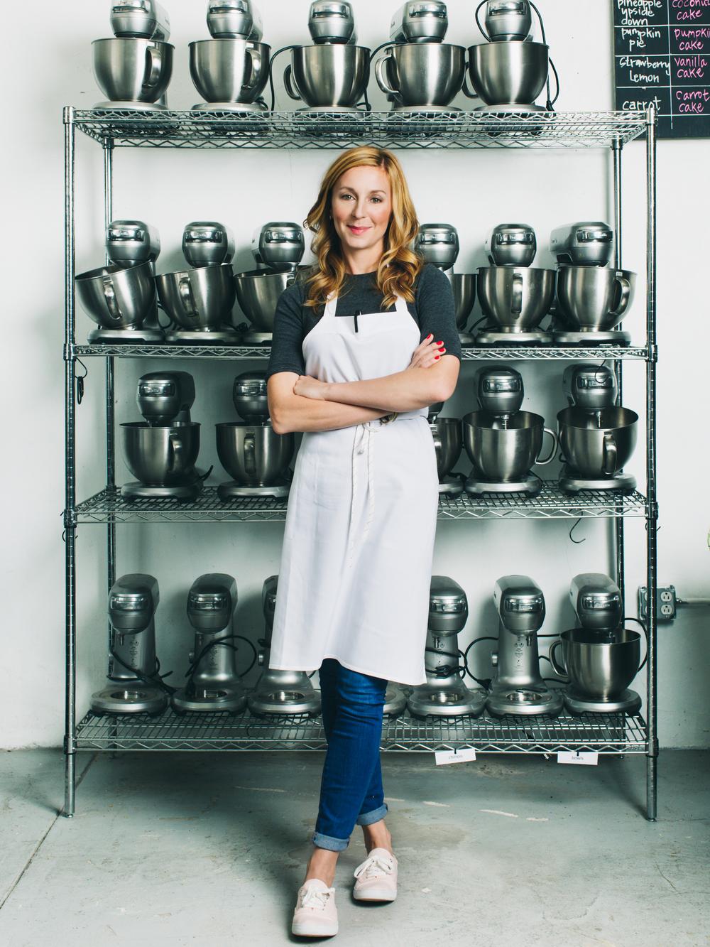 Christina Tosi, Chef and owner of Momofuku Milk Bar
