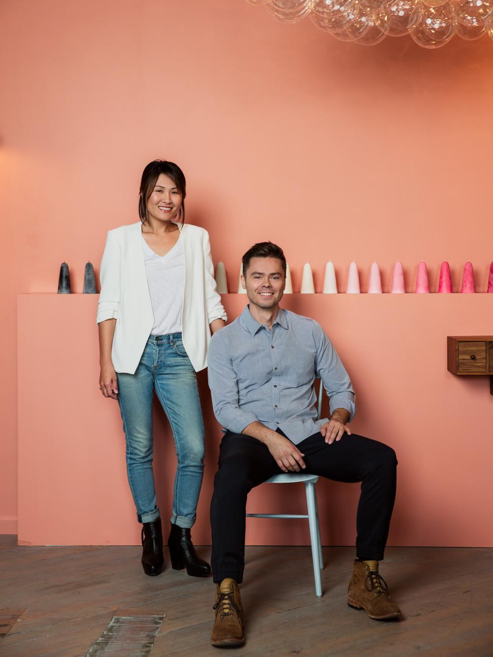 Jean & Oliver Pelle, Co-founders of Pelle Designs