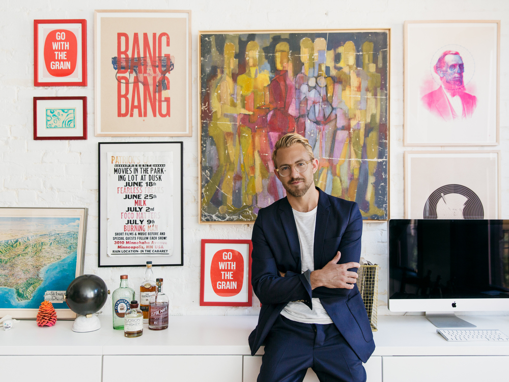 Patrick Janelle, Co-creator of  Spring Street Social Society  and social influencer