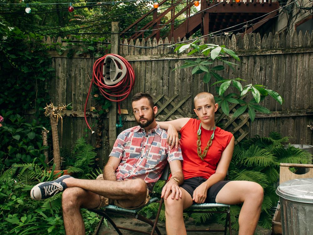 "Max Freeman & Margaret Singer, Creators of web series ""The 3 Bits""  The 3 Bits Promo Shoot"