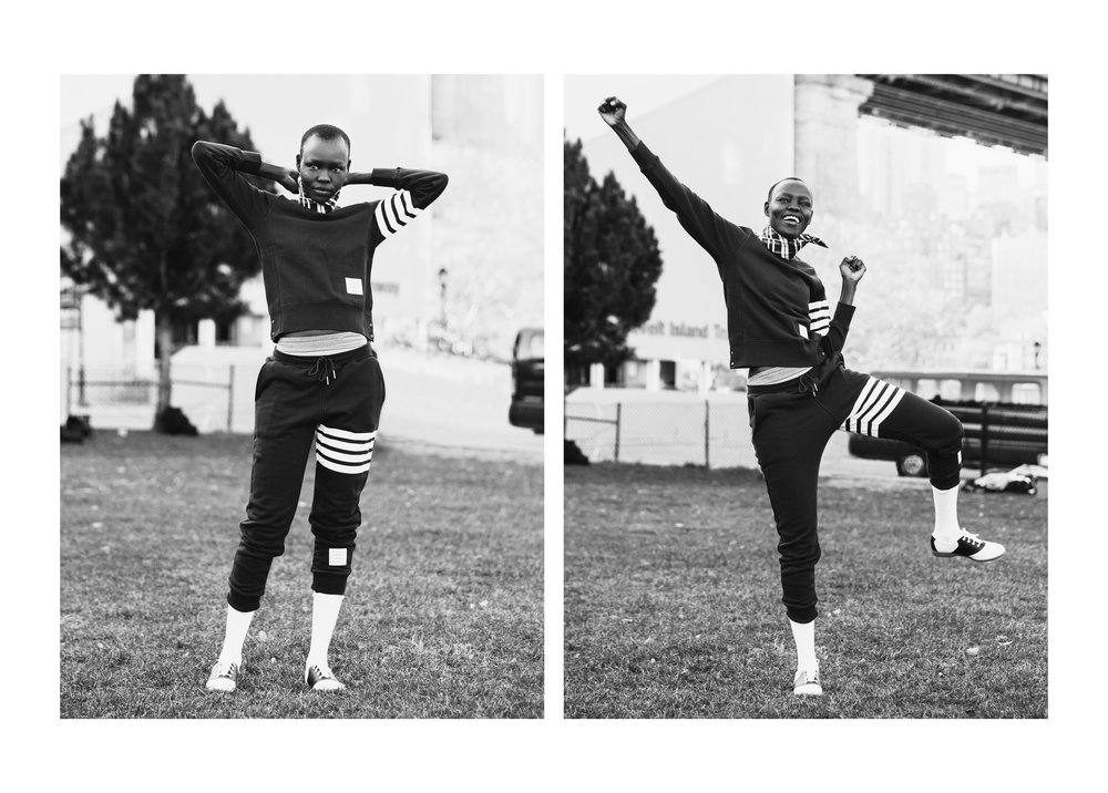 Thom Browne Football Game, 2016  Thom Browne / Vogue