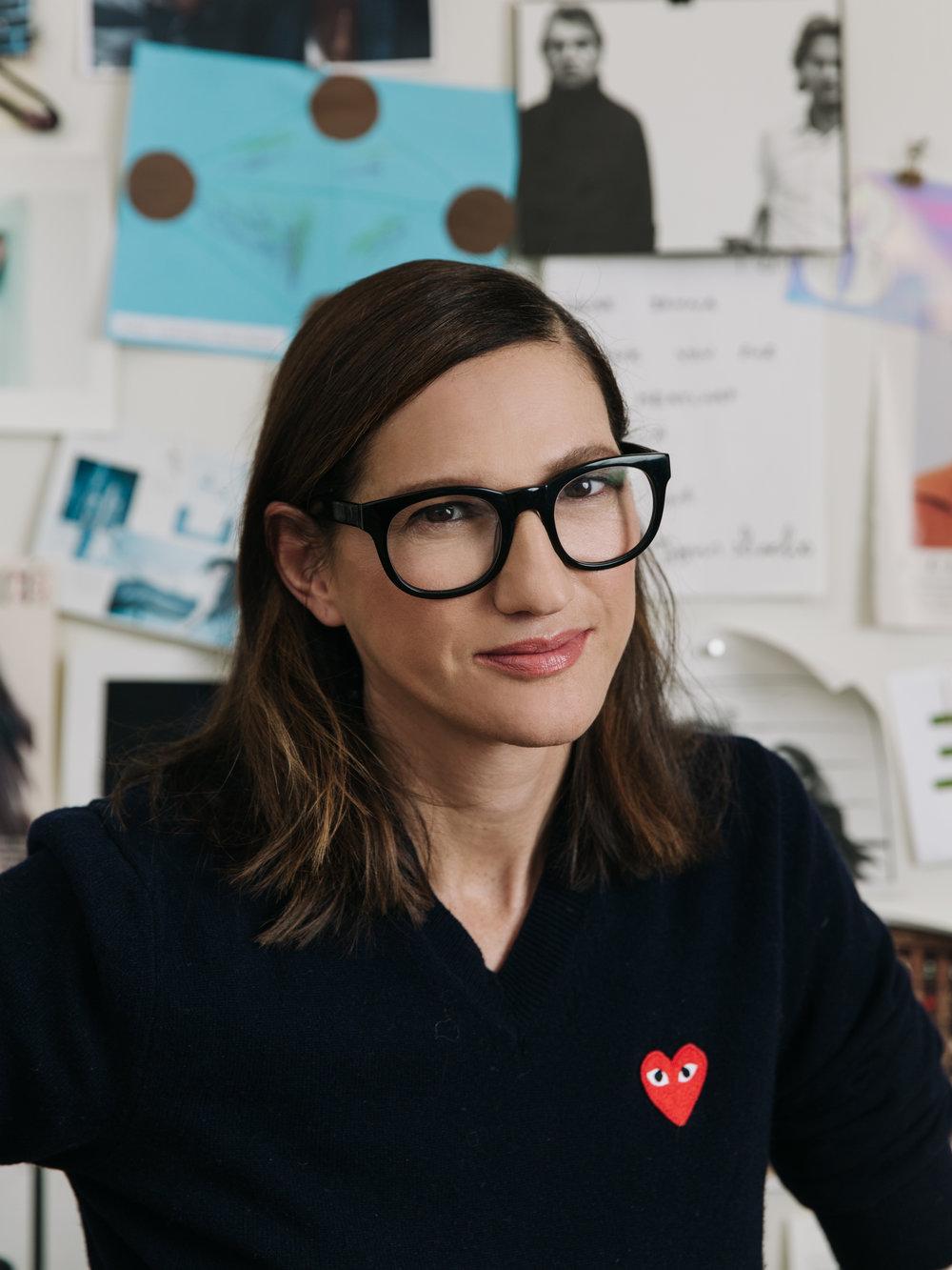 Jenna Lyons, Creative Director & President of J.Crew  Red Magazine UK