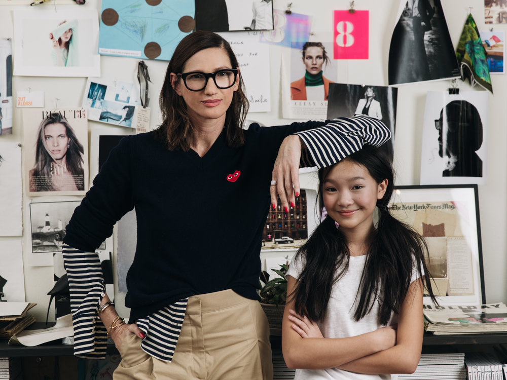 Jenna Lyons, Creative Director & President of J.Crew  Red Magazine UK
