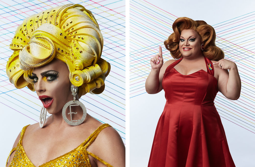 Alyssa Edwards / Ginger Minj  Trailblazer Honors, 2016  Logo TV