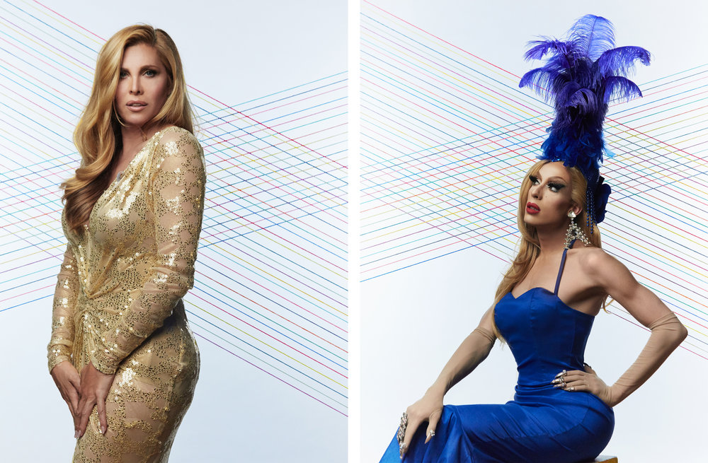 Candis Cayne / Alaska Thunderfuck  Trailblazer Honors, 2016  Logo TV