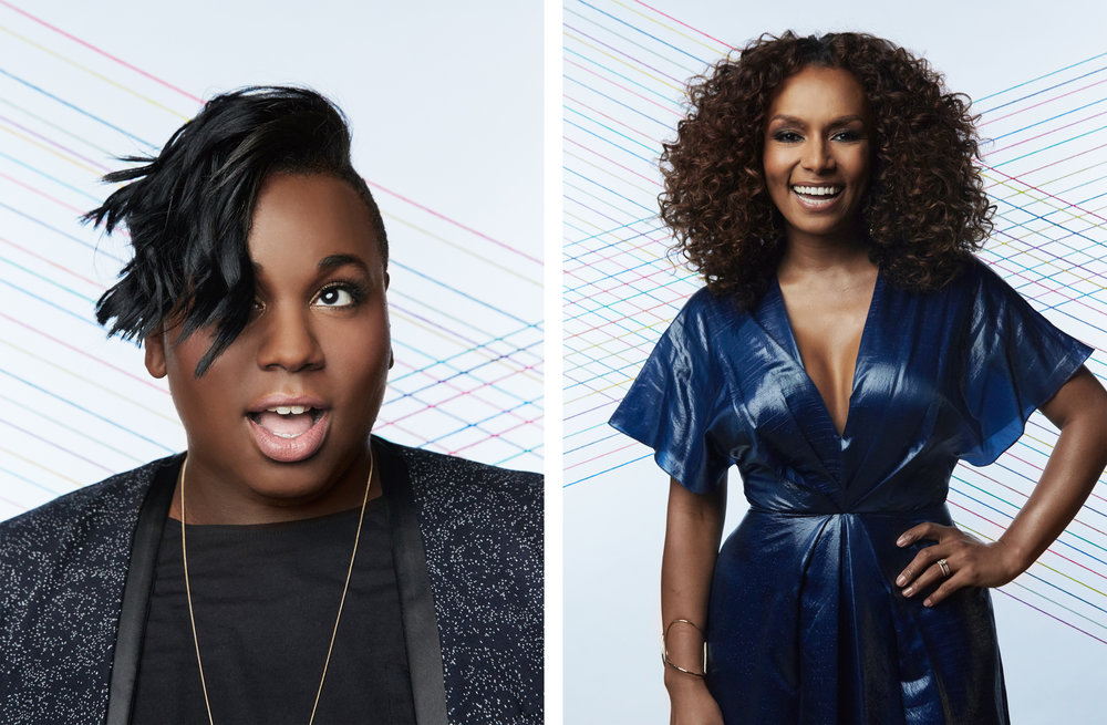 Alex Newell / Janet Mock  Trailblazer Honors, 2016  Logo TV