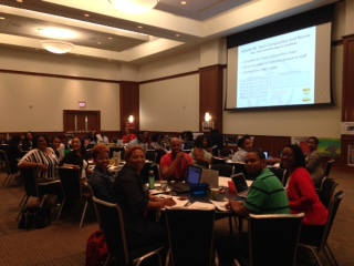 ASD School Leadership Teams collaborate at August 2 RTI ² -Behavior training at UofM University Center