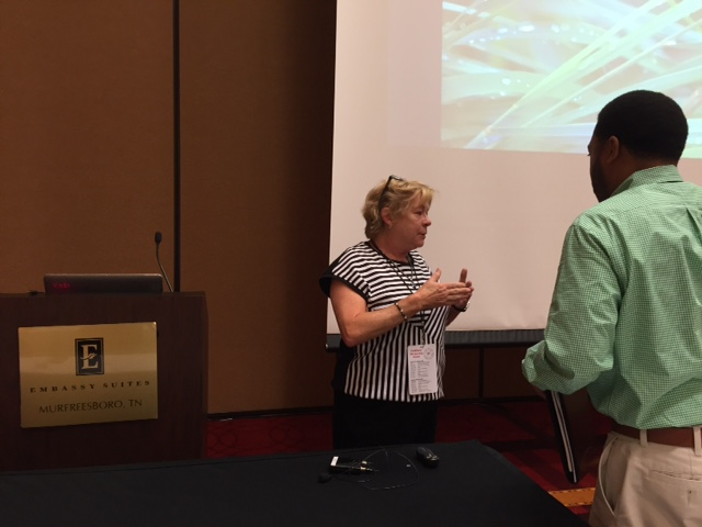 Patty Outten presented a session on RTI2-­‐B Family and Community Involvement at the conference on Sept. 29th.