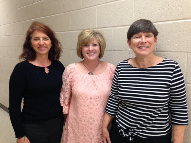 Carolyn Stark (R) along with Arlington Elem. (Jackson-­‐Madison Co) Guidance Counselor Aimee Evans and Principal Kippi Jordan participated in a break-­‐out session at the LEAD conference.