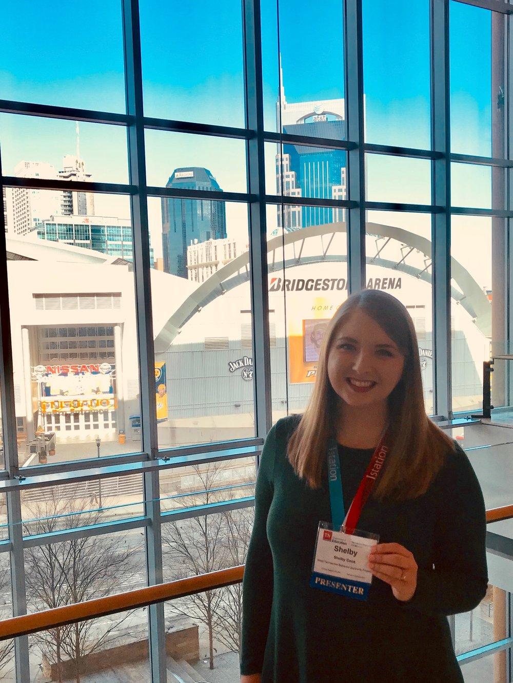 West TBSP Staff Presenter, Shelby Cook