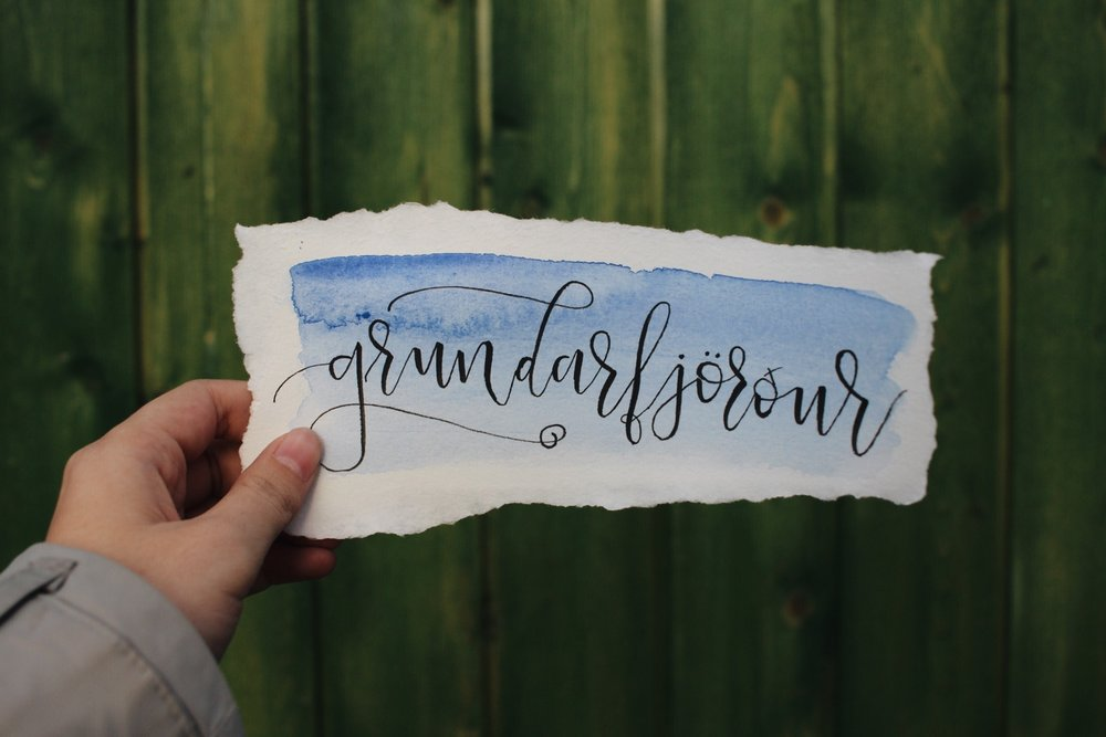 Calligraphy by Mel