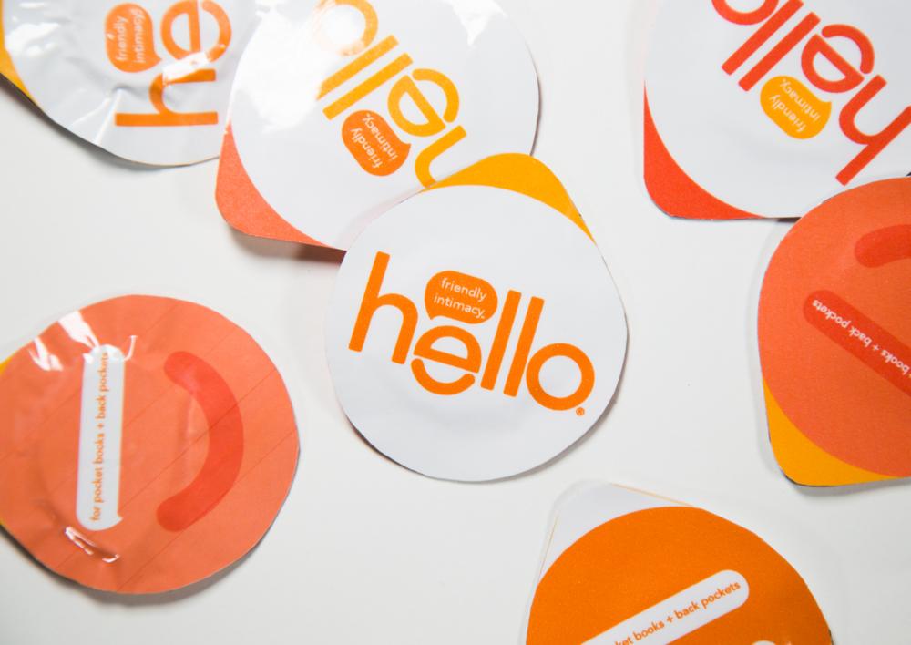 Hello circular, easy-open condoms.