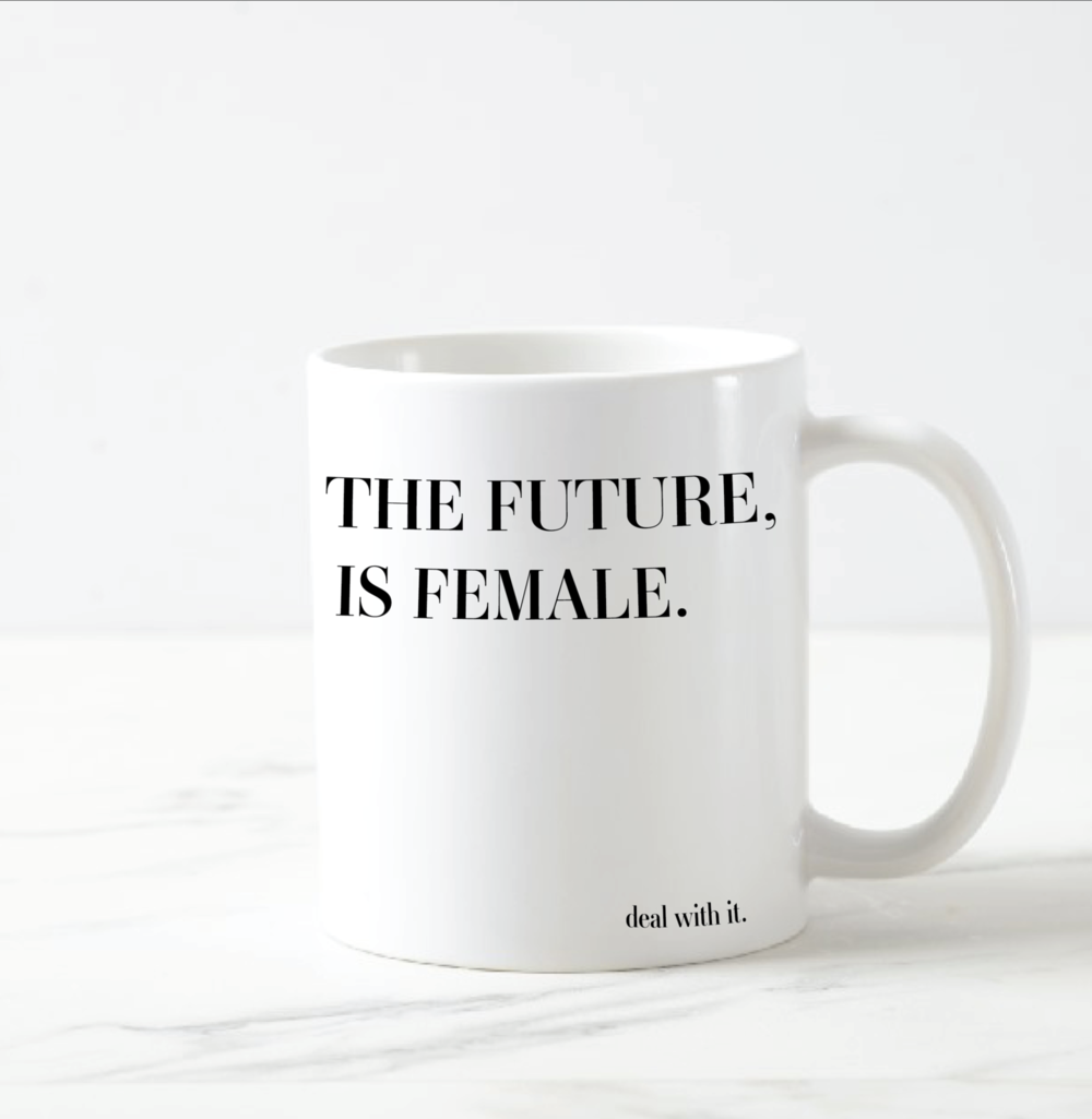 'The Future is Female' Mug