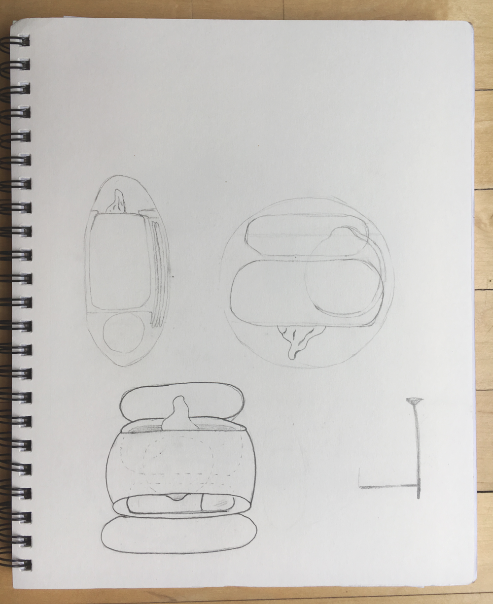 Preliminary Sketch for Convenience Pack