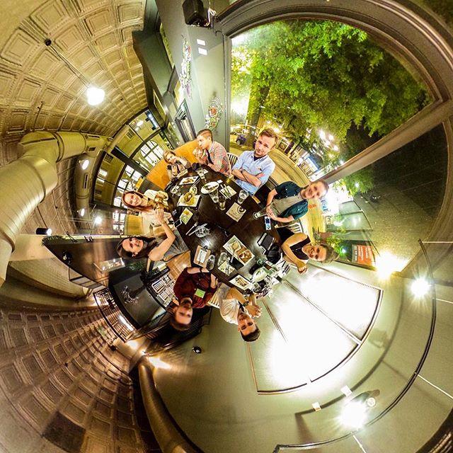 Freakishly Cool Bunch. . . . . . @fcbchi @fcbglobal @vcu_brandcenter #360 #360sphere #photosphere #littleplanet #tinyplanet #360planet #ricohtheta #ricohthetas #theta360 #experience360 #spheredview
