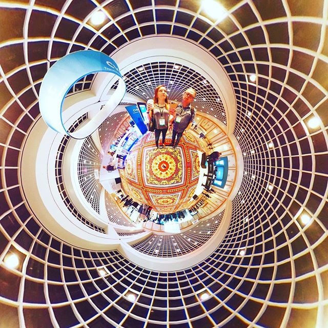 @redpegmarketing checking out what's happening in the event and technology space... #360 #360sphere #photosphere #littleplanet #tinyplanet #360planet #ricohtheta #ricohthetas #theta360 #theta360official #photography #360photo #lifeis360 #lifein360 #the360experience #experiencedesign #immersive
