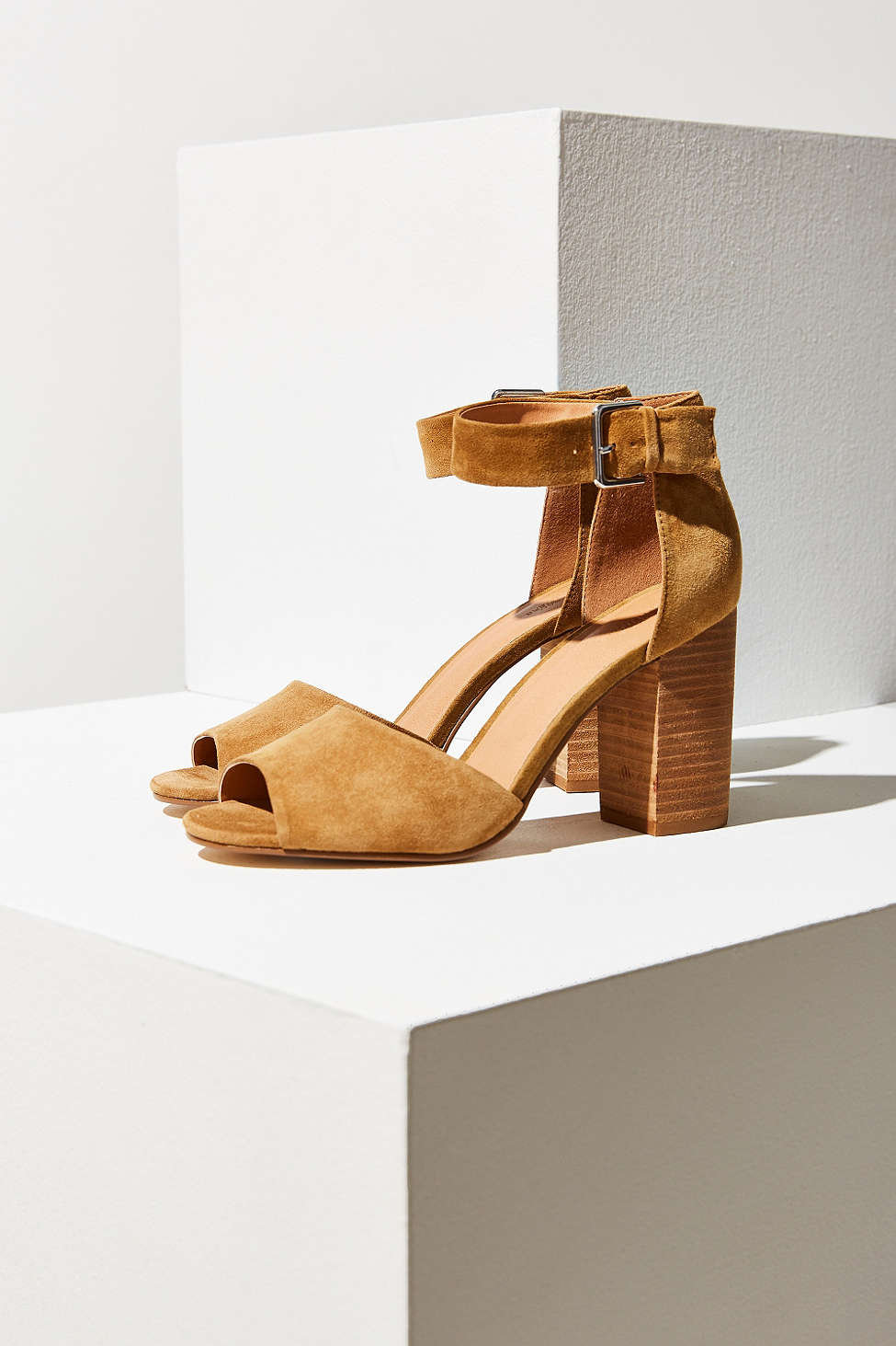The Chunky Heel    - Although stilettos will forever be a classic in any closet, the big trend this year is the chunky heel. And if you're anything like me, jump on this trend train and never get off. They're so so much easier to maneuver and more comfortable to wear than a skinny heel.