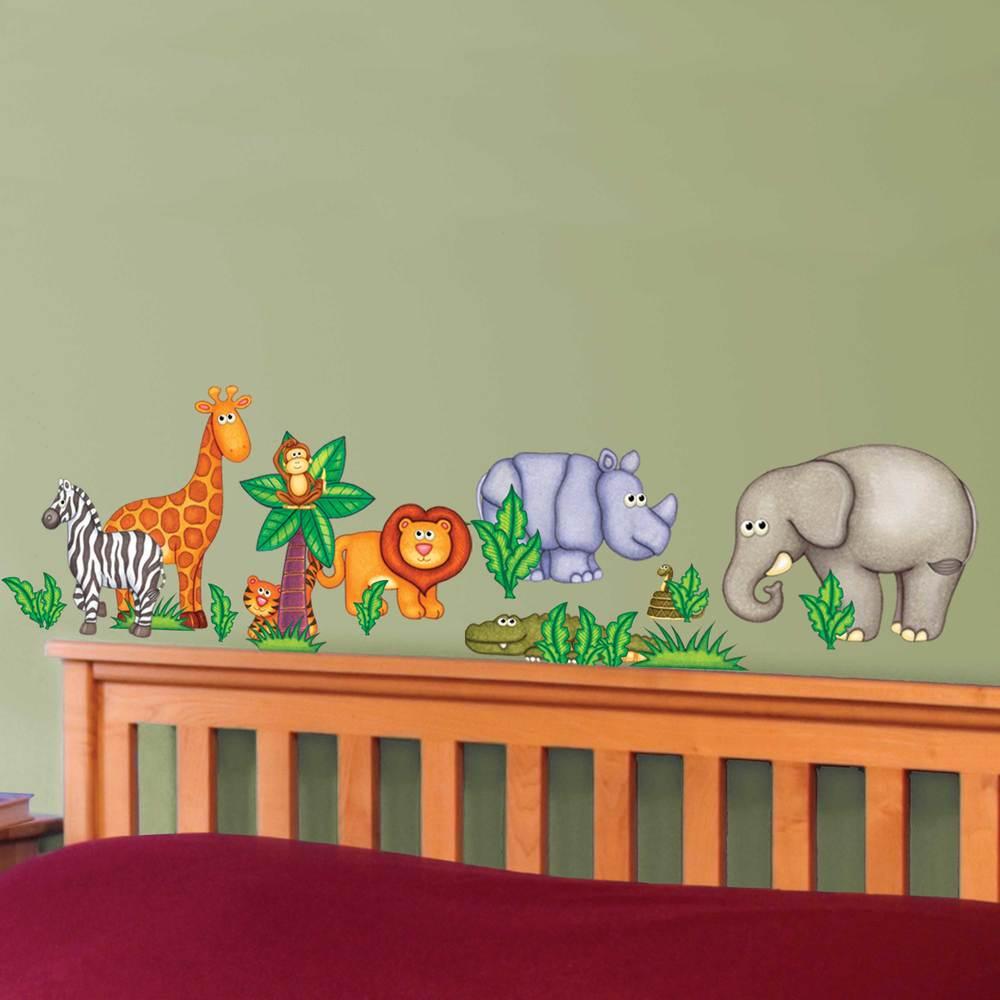 jungle zoo main street wall creations