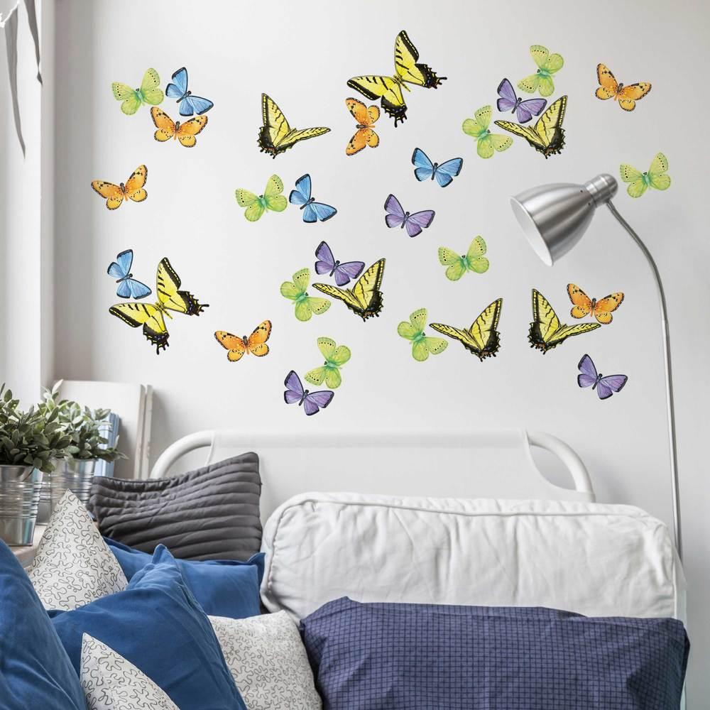 Wall stickers main street wall creations butterfliesinuseg amipublicfo Gallery