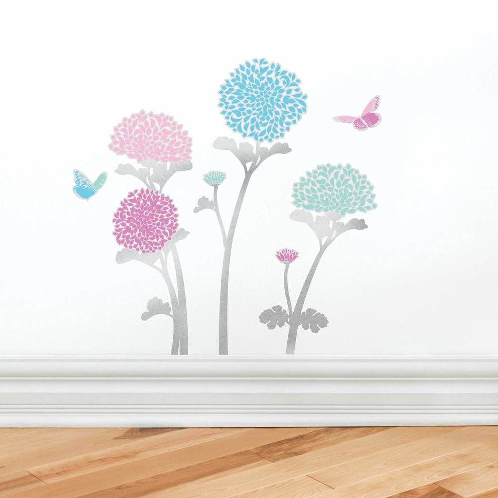 Wall stickers main street wall creations chrysanthemumsinuseg amipublicfo Gallery