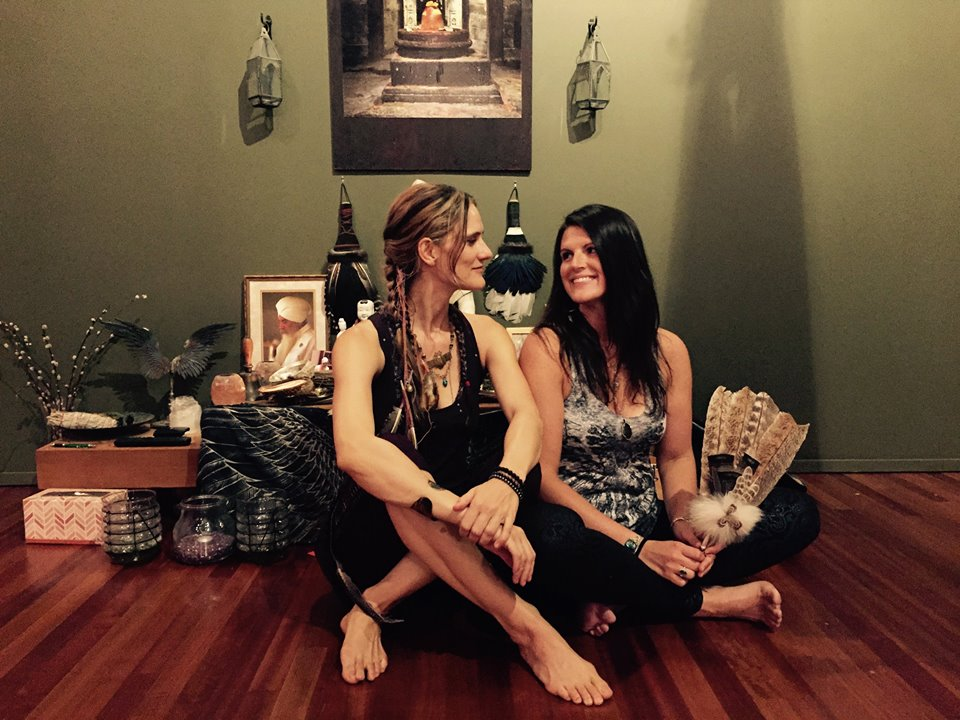 Shaman Michelle Hawk and Katherine Bird teach Animal Dance Shamanic Journey Workshop in Portland, OR