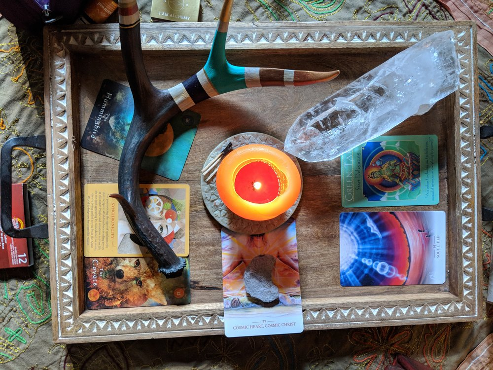 I AM Alchemy Retreat Altar Ceremony Oracle Magic Eclipse Vision Quest