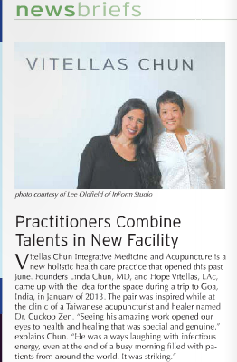 Click  here  and check out page 7 of the October Natural Awakenings Magazine to see VCIMA featured.