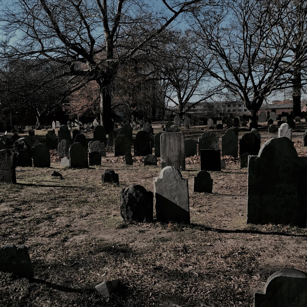 Burying Point Cemetery in Salem, MA