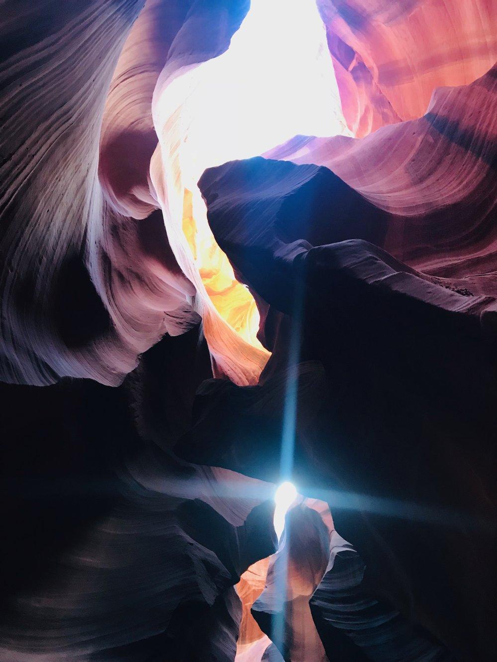 Antelope Canyon Upward Light.jpeg