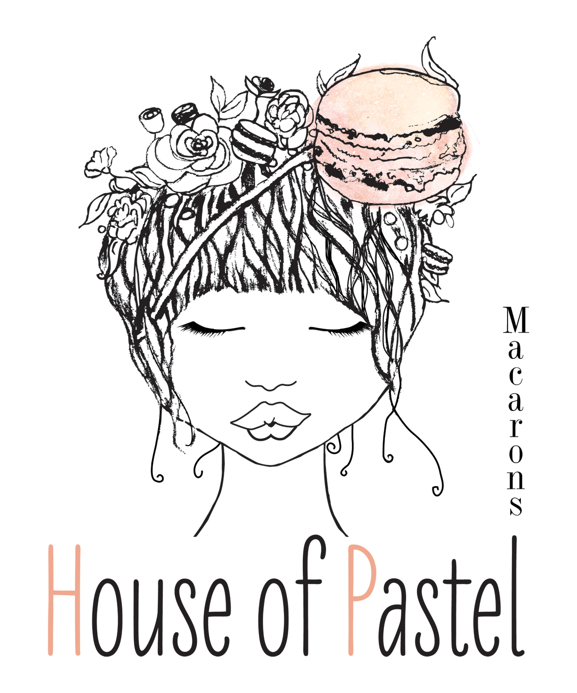 House of Pastel Macarons
