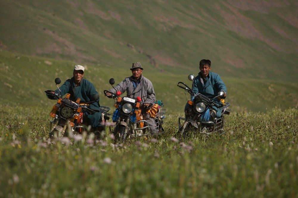Multi-sport in Central Mongolia -