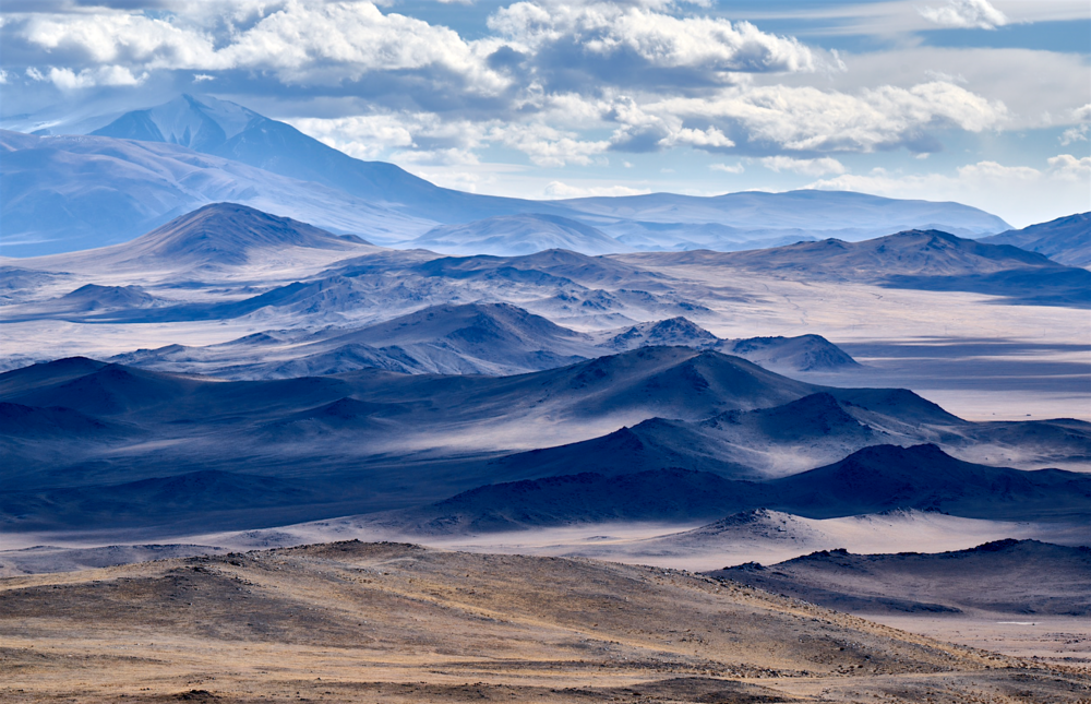 Vista of Mongolian Altai image by S.Khasar