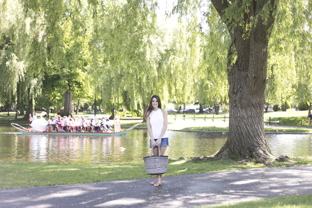 boston public garden photo shoot