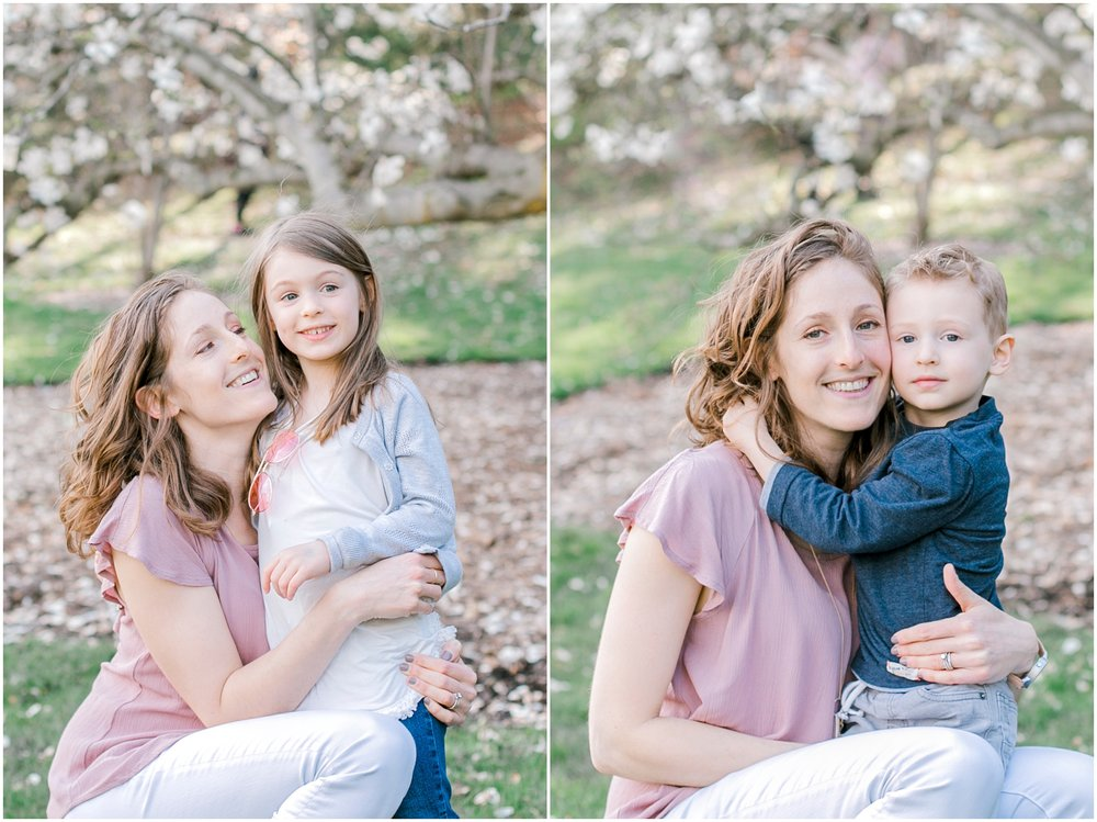 arnold arboretum spring family photos