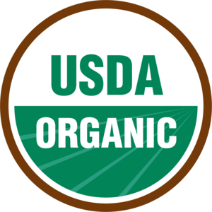 USDA Organic seal   The labeling requirements of the NOP apply to raw, fresh products and processed products that contain organic agricultural ingredients. Agricultural products that are sold, labeled, or represented as organic must be produced and processed in accordance with the NOP standards. Except for operations whose gross income from organic sales totals $5,000 or less, farm and processing operations that grow and process organic agricultural products must be certified by USDA-accredited certifying agents.