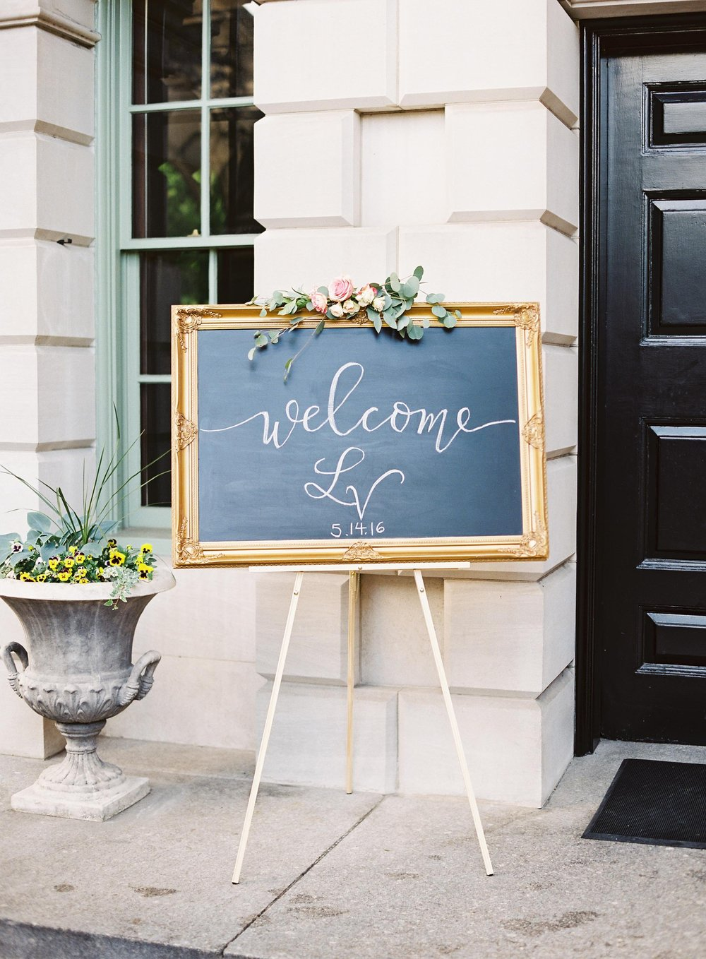 Watercolor Bouquet Suite Welcome Sign
