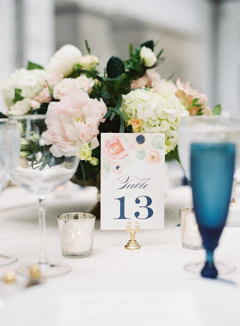 Watercolor Bouquet Suite Tablescape