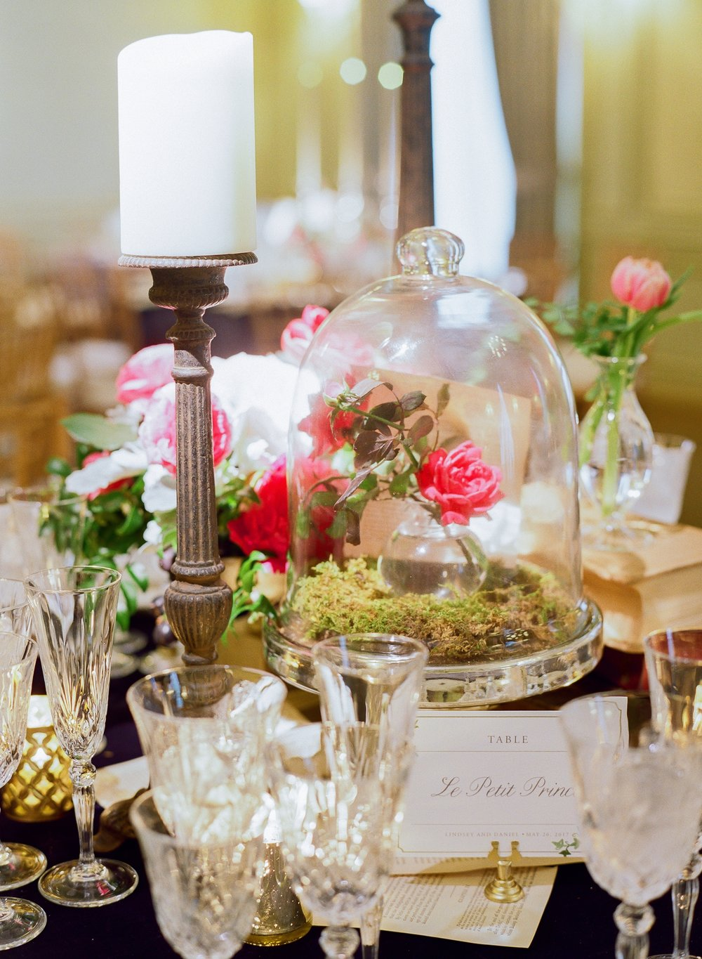For the Love of Books Suite Tablescape