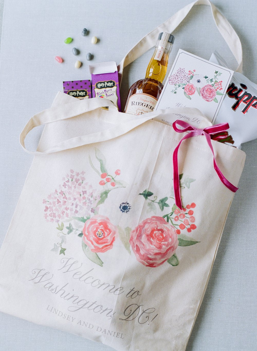For the Love of Books Suite Welcome Bag