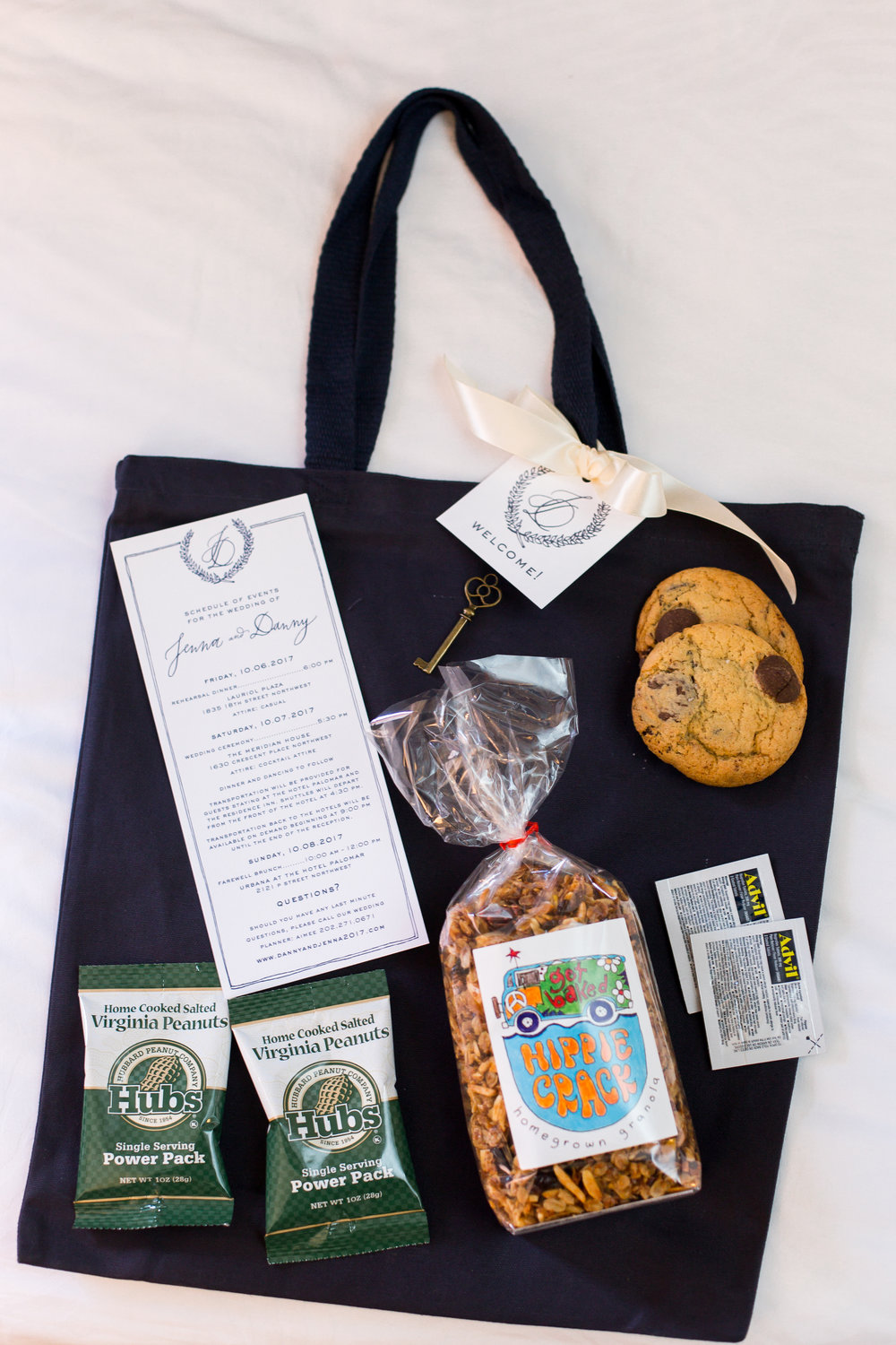 Secret Garden Suite Welcome Bag