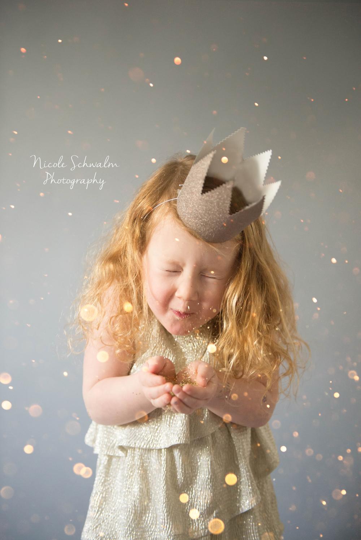 A Magical Glitter Photo Session Saratoga Springs