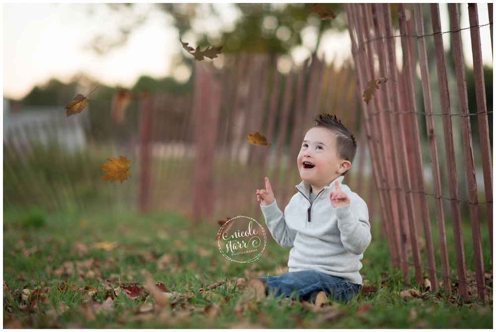 Nicole Starr Photography | Boston photographer does photo sessions for local families with a child with Down syndrome