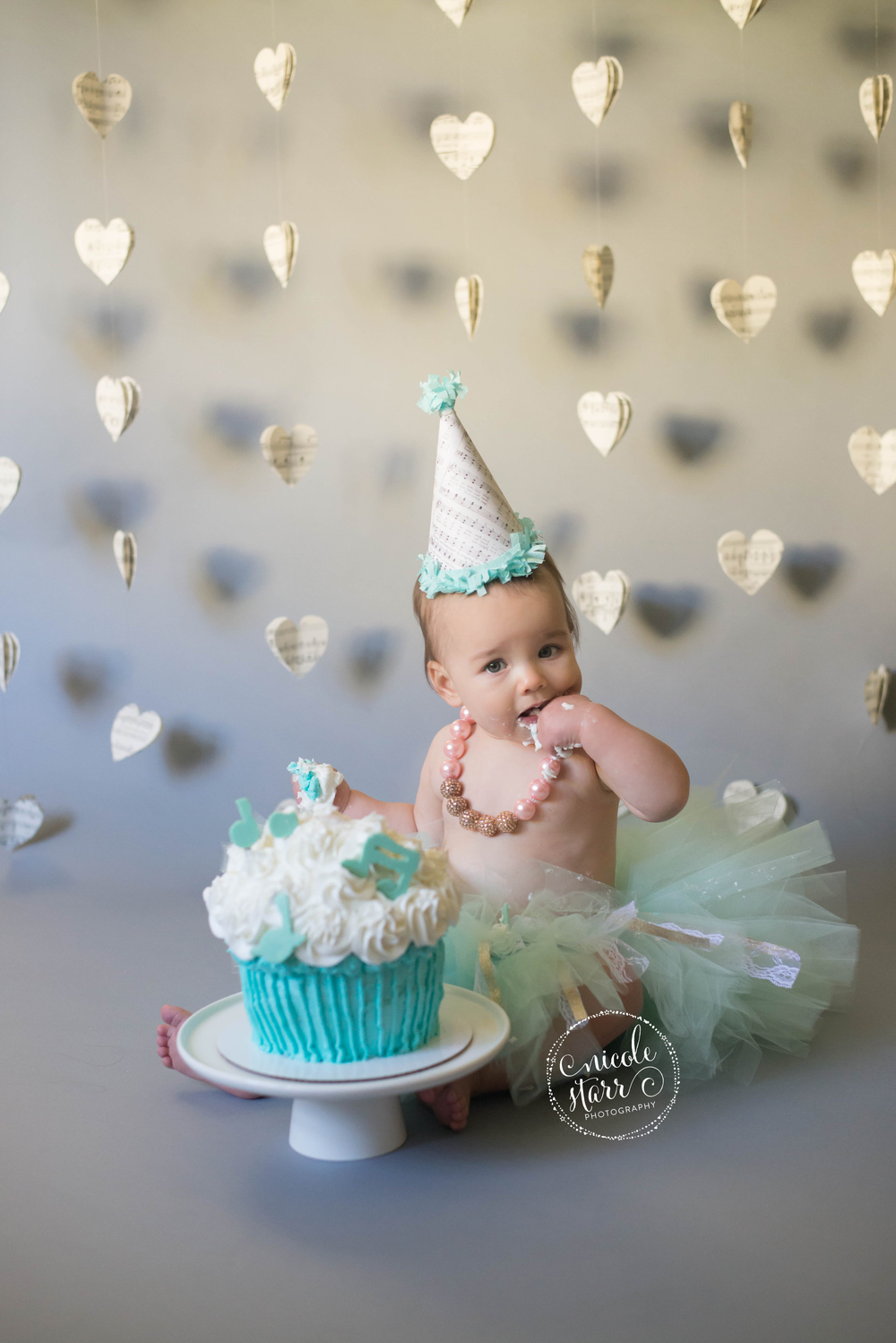 A Musical First Birthday Cake Smash Saratoga Springs Boston Baby