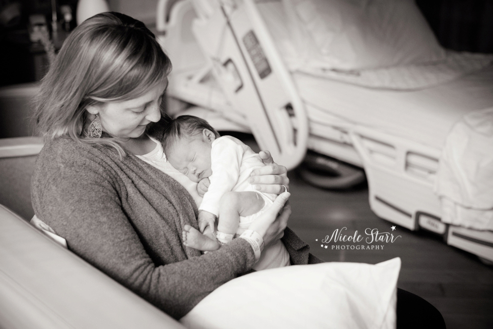 Saratoga albany newborn baby photographer fresh 48 hospital session