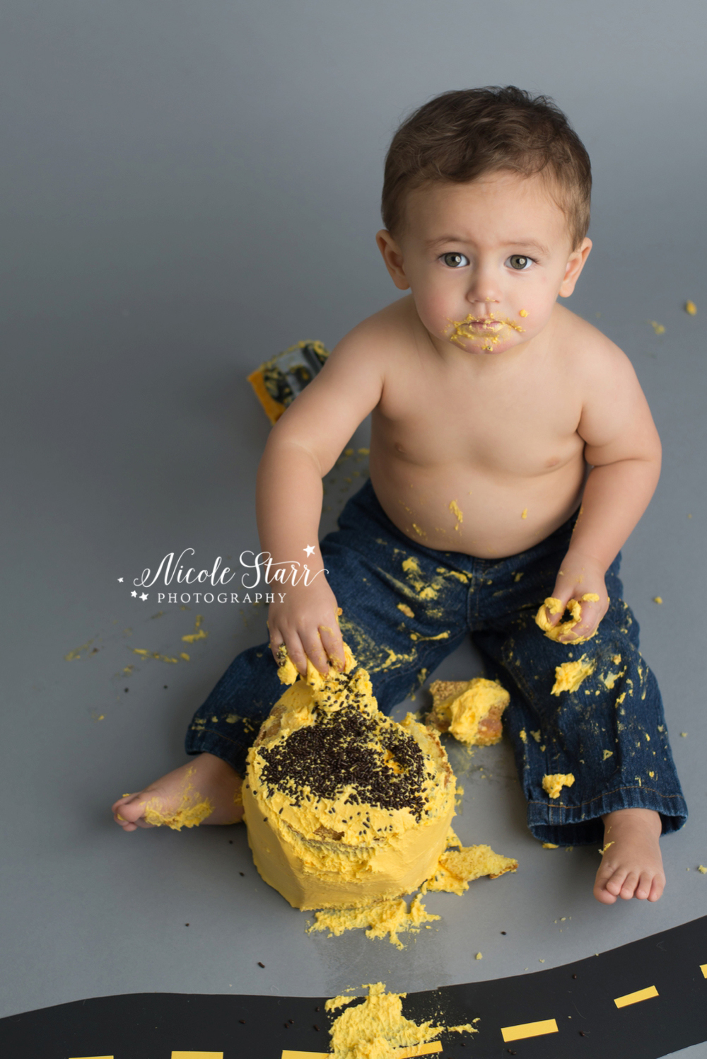 upstate new york saratoga albany cake smash first birthday baby photographer_0015.jpg