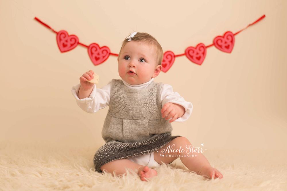 Valentine's baby photographer