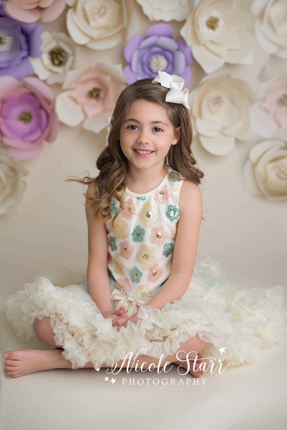 saratoga springs albany family photographer whimsical paper flower backdrop.jpg