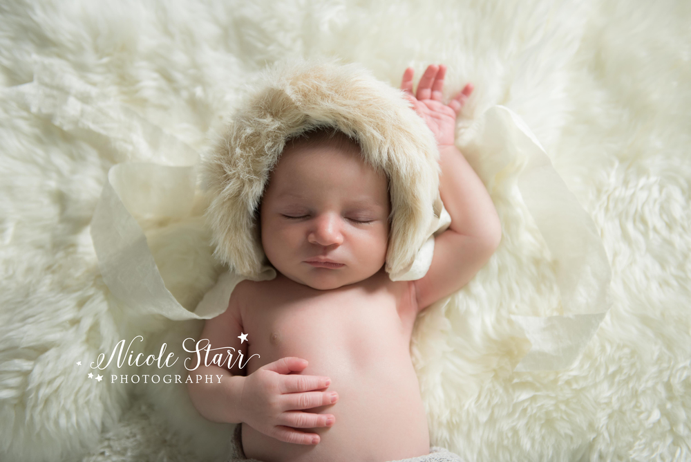 Little evie prop shop fur eskimo bonnet