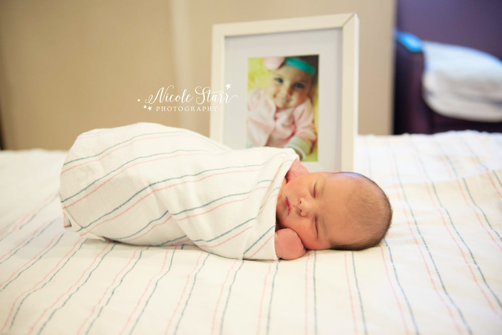 Saratoga Springs NY Fresh 48 newborn hospital photographer