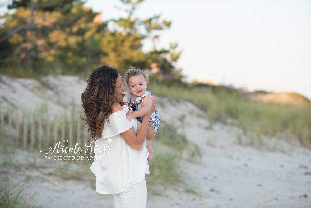 Cape Cod beach family photos
